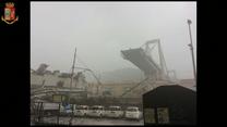 Katastrofa we Włoszech. Zawalił się fragment mostu