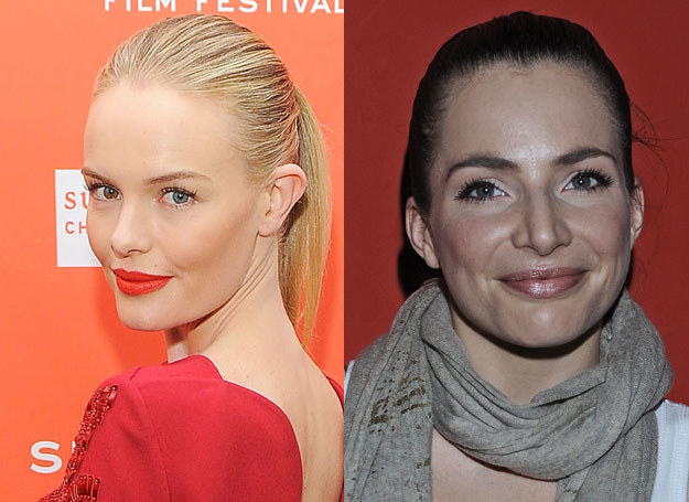 Kate Bosworth i Anna Dereszowska /A. Szilagyi /Getty Images/Flash Press Media