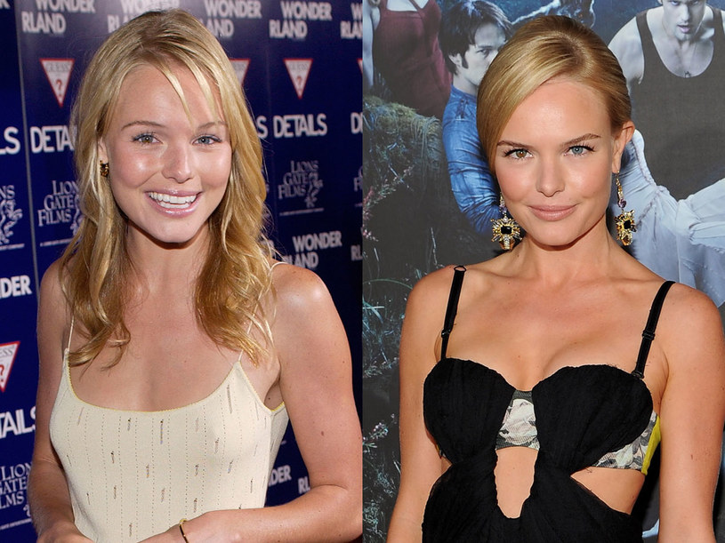 Kate Bosworth - zdjęcje z 2002 (po lewej) i 2010 roku   /Getty Images/Flash Press Media