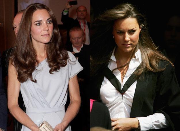 Kate dziś i w 2005 roku /Getty Images/Flash Press Media