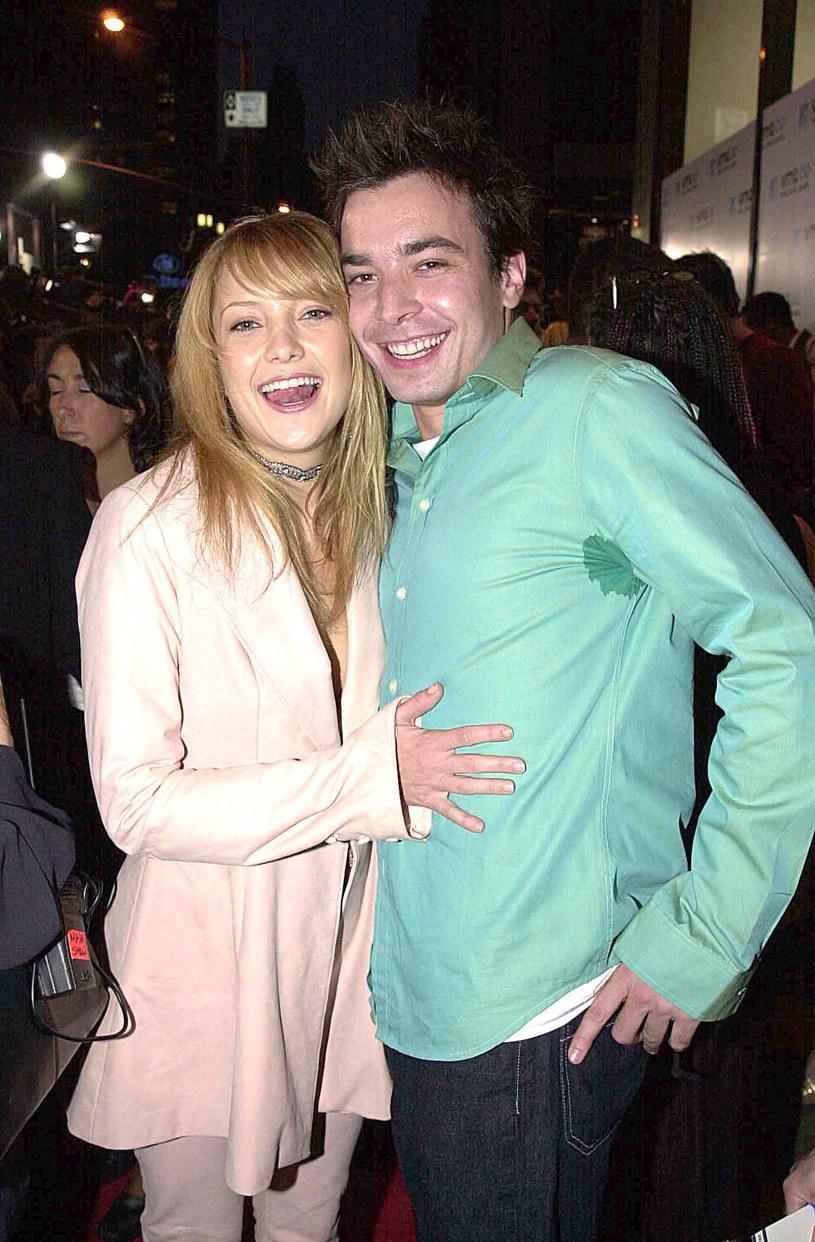 Kate Hudson i Jimmy Fallon w 2000 roku /Jeff Kravitz/FilmMagic /Getty Images