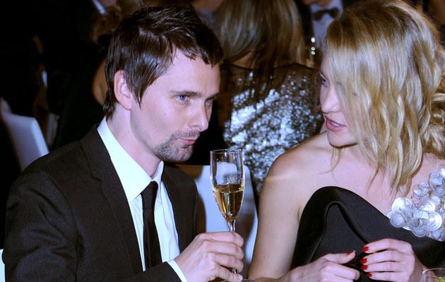 Kate Hudson i Matthew Bellamy, fot.Jason Merritt  /Getty Images/Flash Press Media