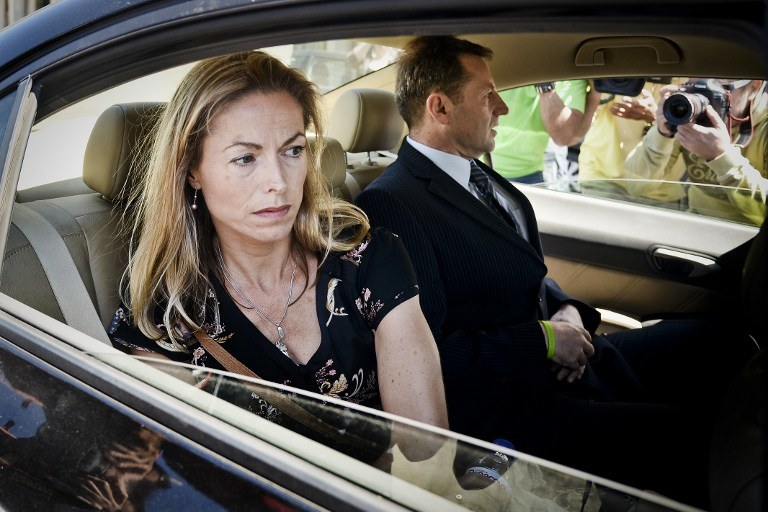 Kate i Gerry McCann /AFP