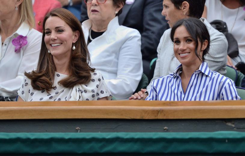 Kate i Meghan - jedne z najlepiej ubranych kobiet świata /East News