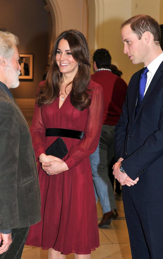 Kate i William już nie mogą się doczekać potomka /WPA Pool /Getty Images