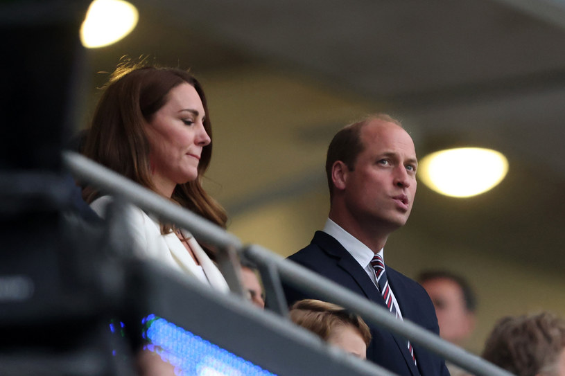 Kate i William na finale Euro /Marc Atkins /Getty Images
