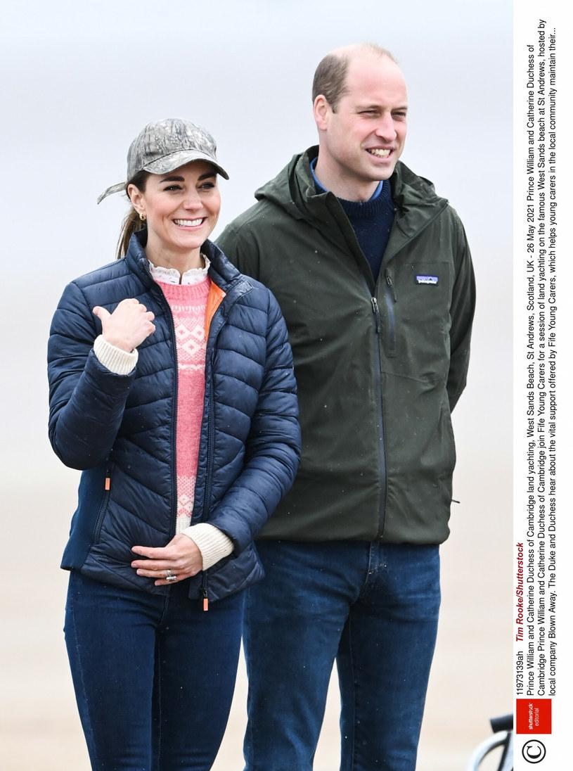 Kate i William na najnowszych zdjęciach /Tim Rooke/REX/Shutterstock /East News