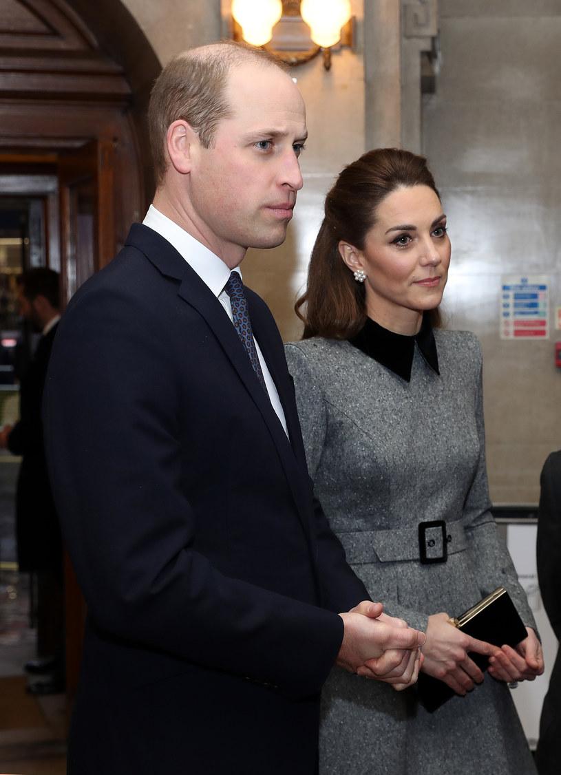 Kate i William podczas obchodów Dnia Pamięci Ofiar Holokaustu w Wielkiej Brytanii /Chris Jackson /Getty Images