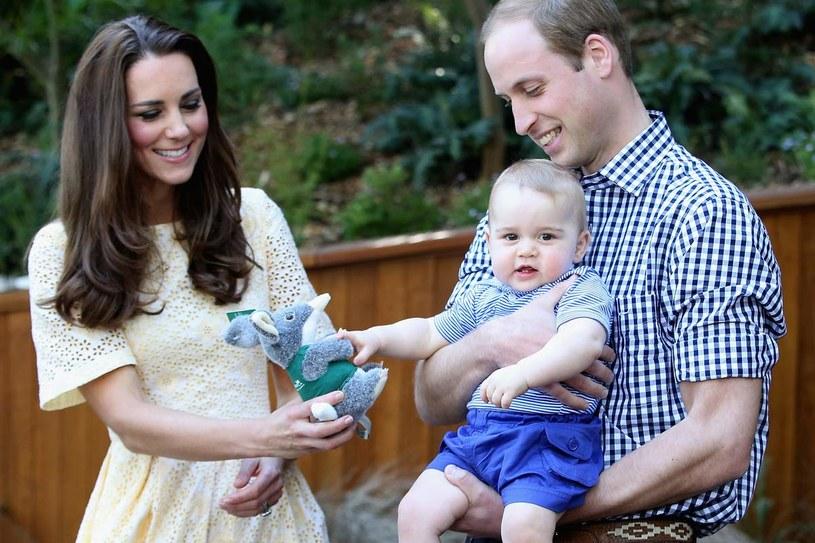 Kate i William rozmawiają o rodzeństwie dla księcia /Getty Images