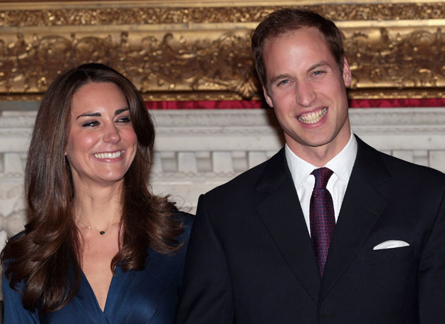 Kate i William są ze sobą już siedem lat /Getty Images/Flash Press Media