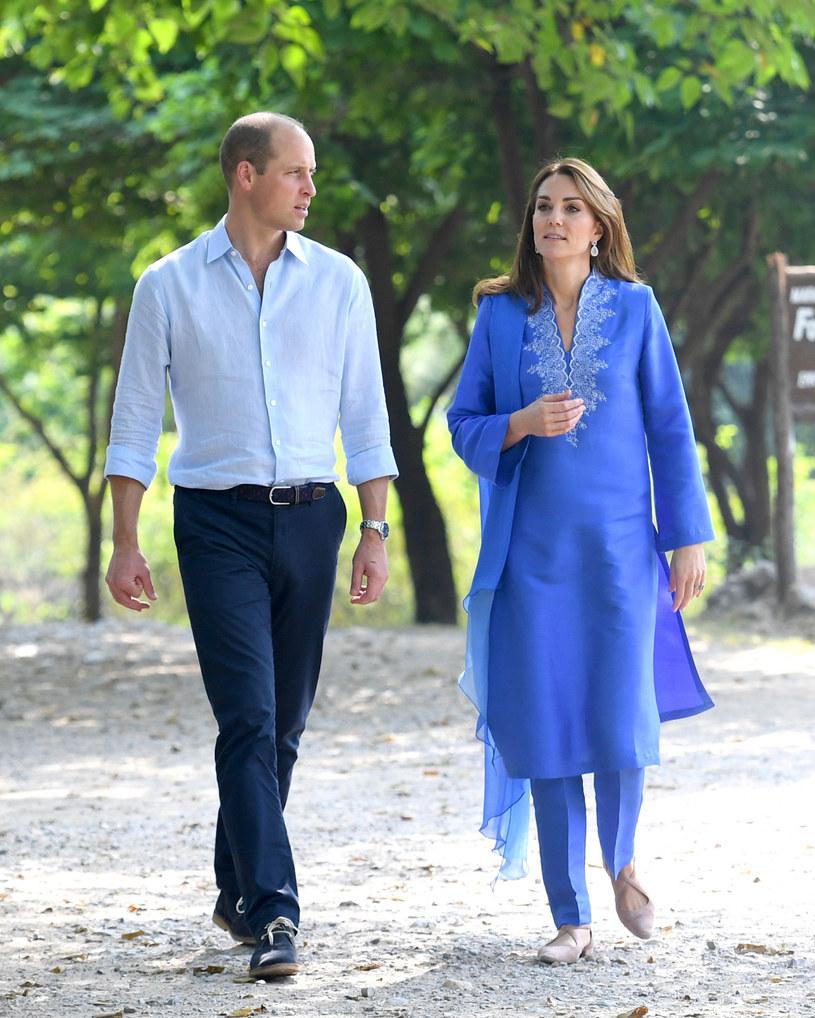 Kate i William w Pakistanie /Splash News /East News