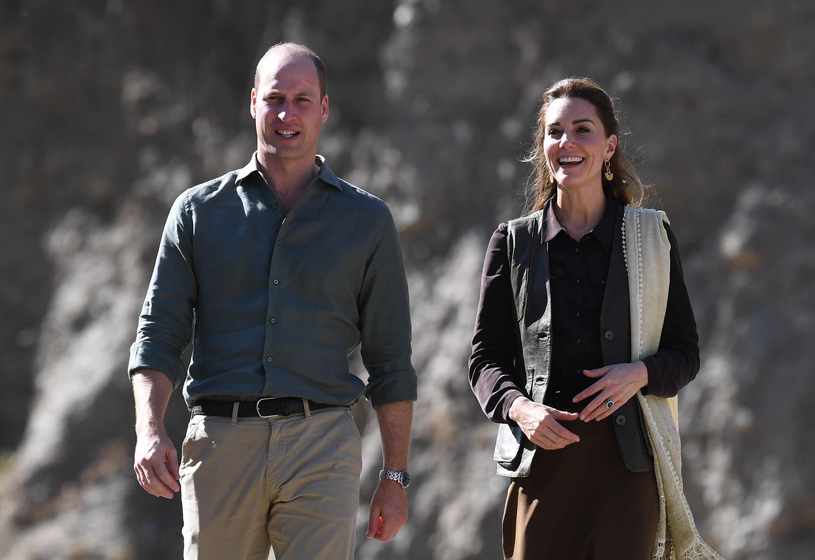 Kate i William w Pakistanie /Pool / Samir Hussein /Getty Images