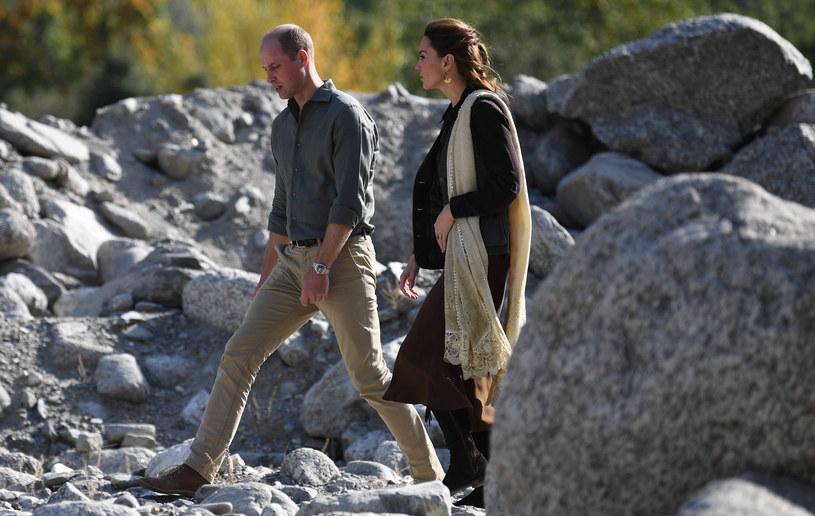 Kate i William w Pakistanie /Pool /Getty Images