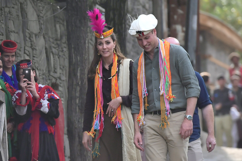 Kate i William w Pakistanie /Samir Hussein /Getty Images