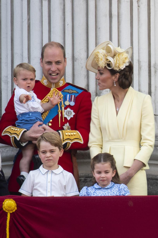Kate i William z dziećmi /Victoria Jones /Getty Images