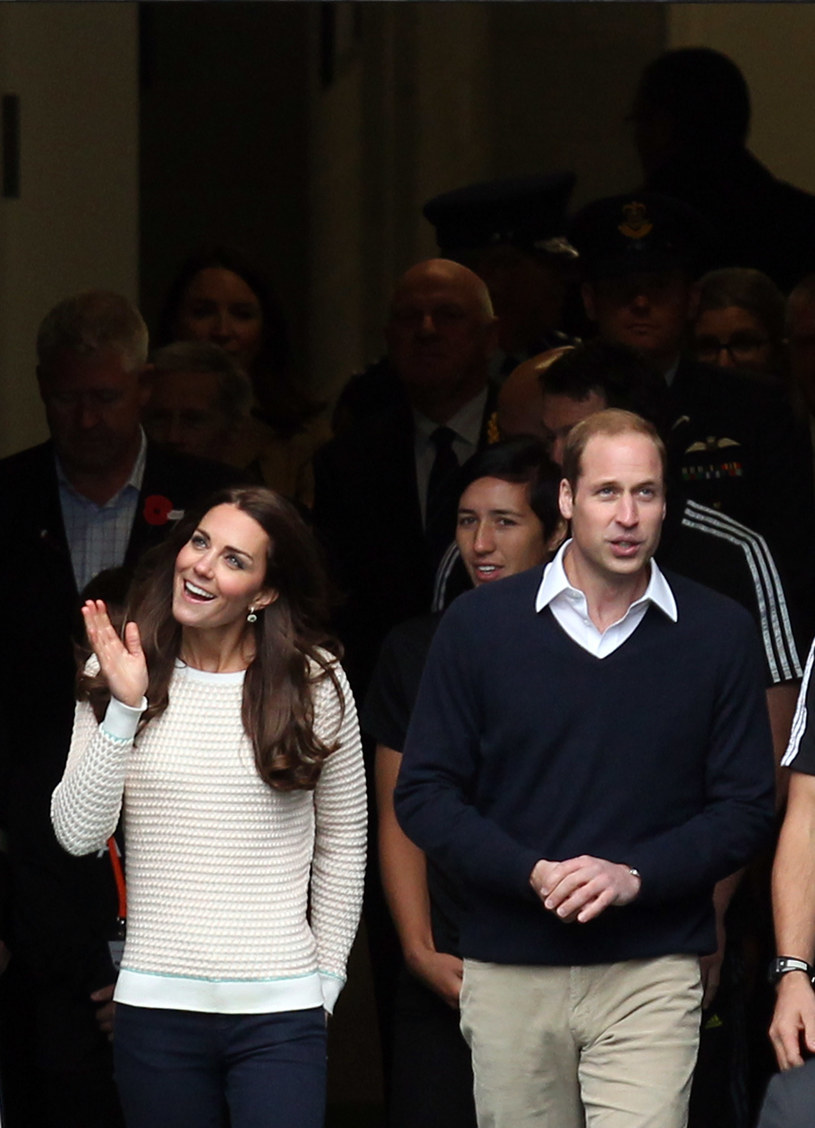 Kate i William /Rob Jefferies /Getty Images