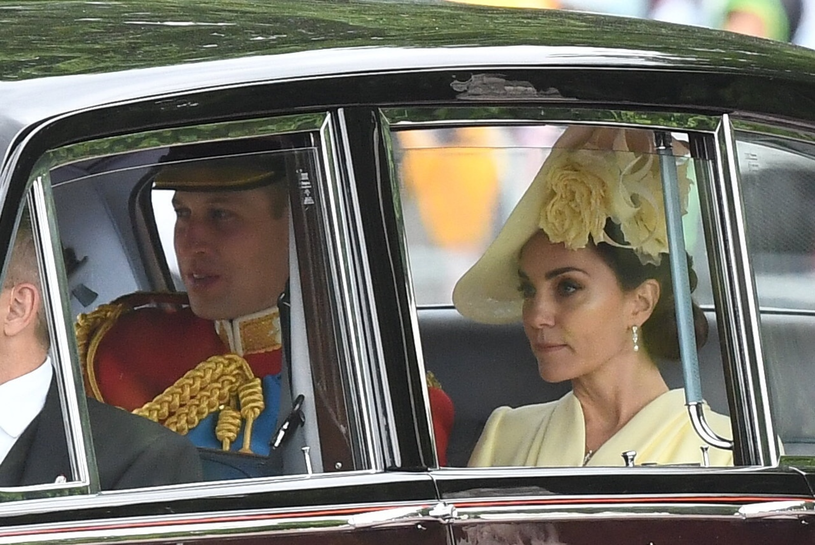 Kate i William /Andrew Parsons / i-Images /East News