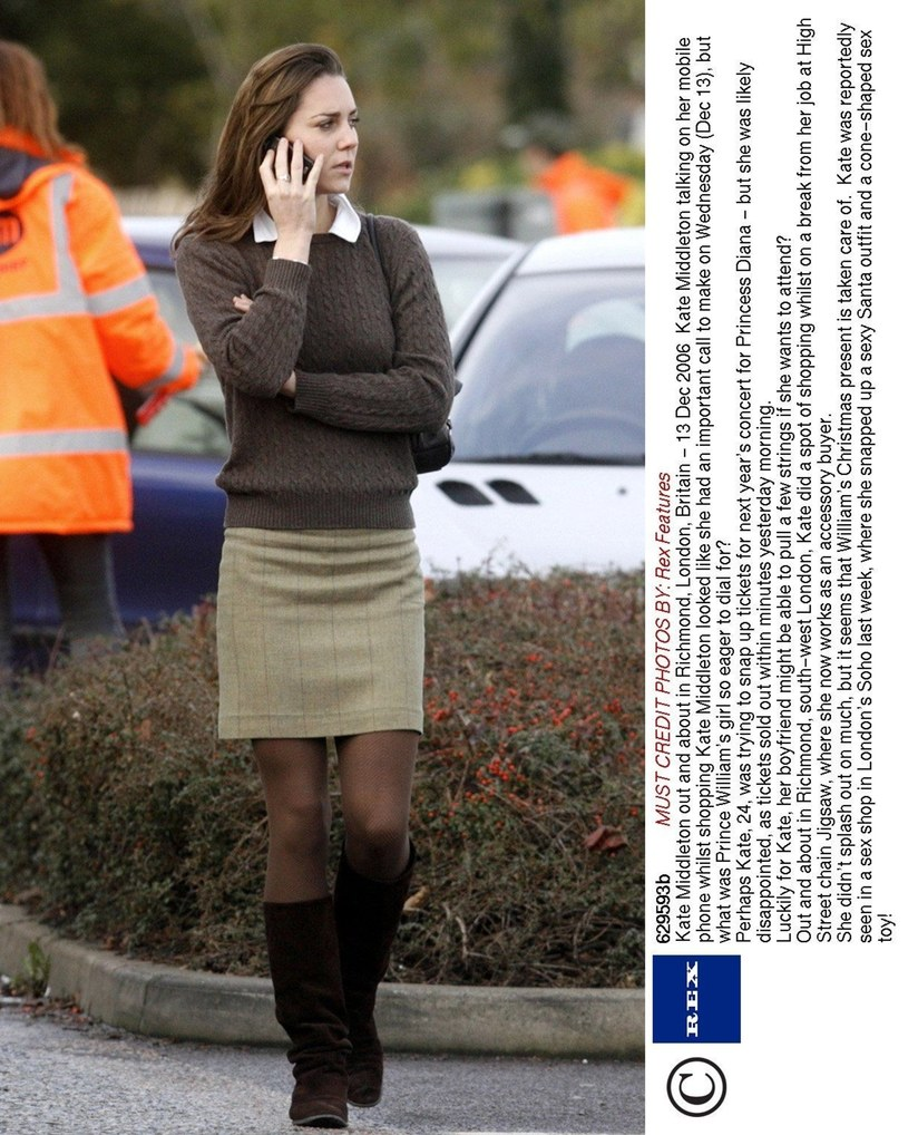 Kate Middleton, 2006 rok /Rex Features /East News
