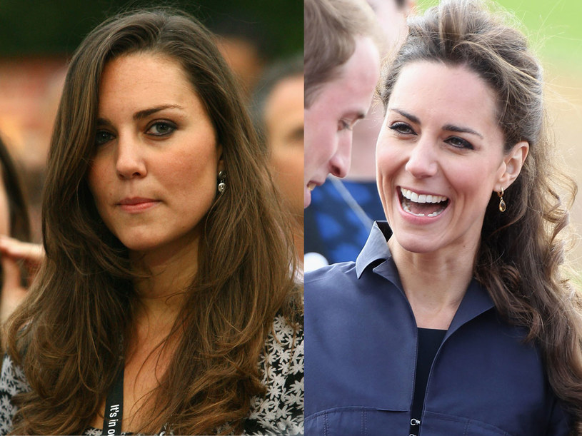 Kate Middleton dwa lata temu i teraz   /Getty Images/Flash Press Media