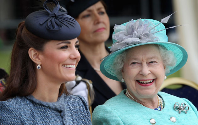 Kate Middleton i Elżbieta II /Chris Jackson /Getty Images