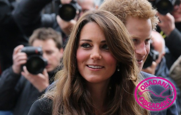 Kate Middleton i Harry /Danny Martindale /Getty Images