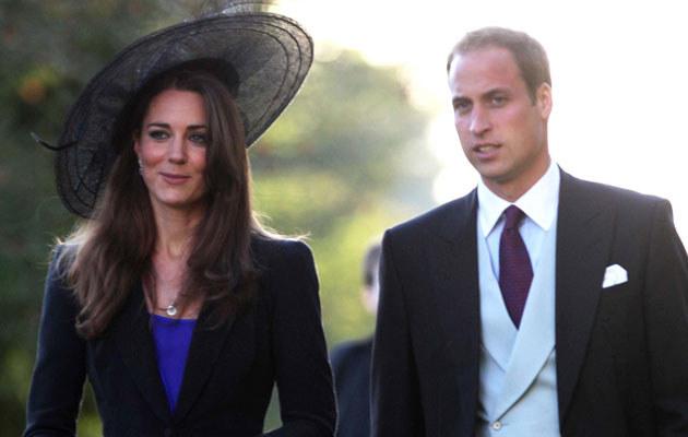 Kate Middleton i książę William  /Splashnews