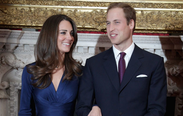 Kate Middleton i książę William, fot. Chris Jackson  /Getty Images/Flash Press Media