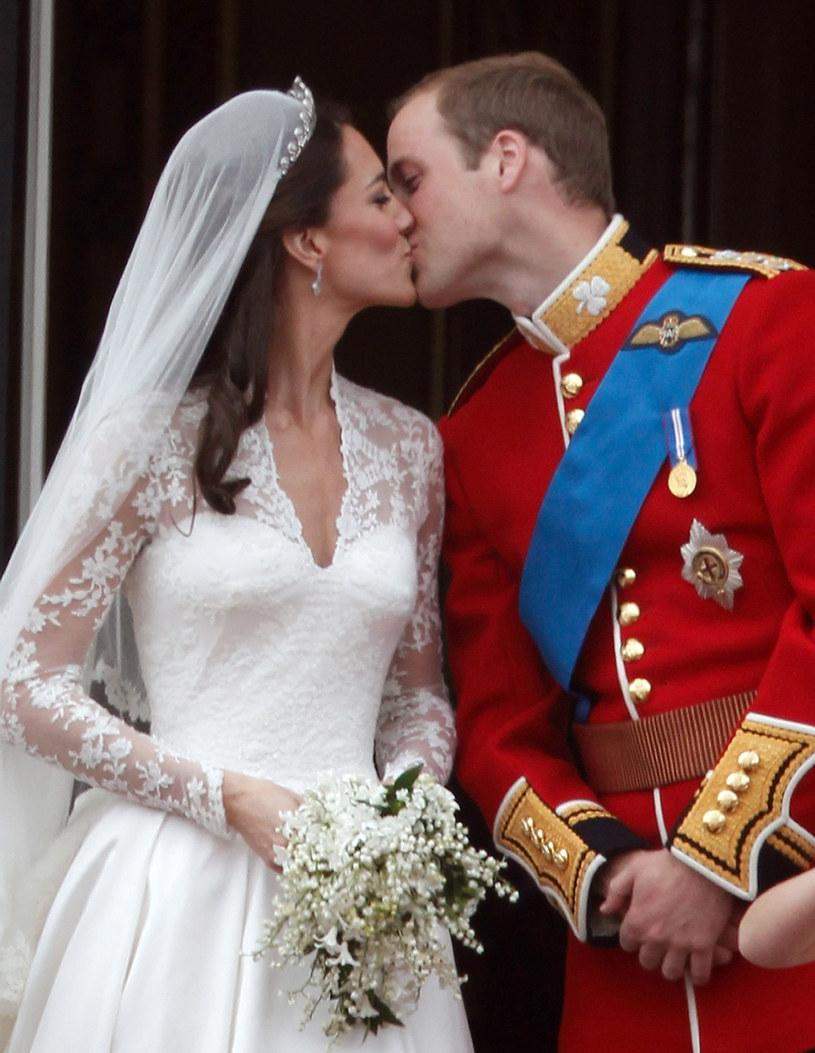 Kate Middleton i książę William pobrali się 29 kwietnia 2011 roku /Getty Images