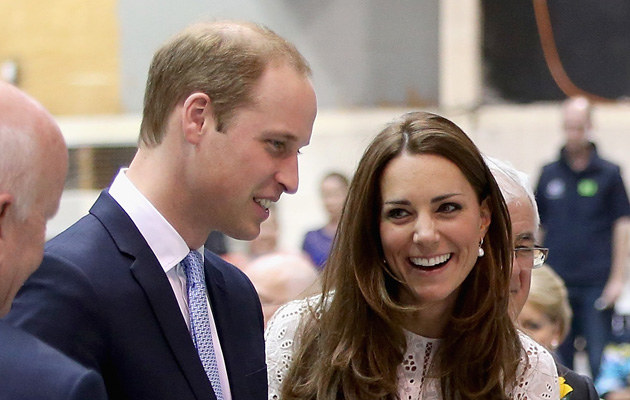 Kate Middleton i książę William w Sydney /Chris Jackson /Getty Images