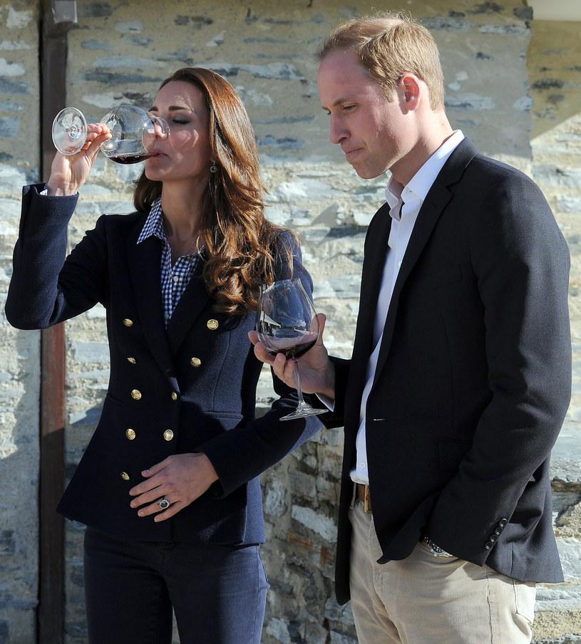 Kate Middleton i książę William w winiarni /Pool /Getty Images