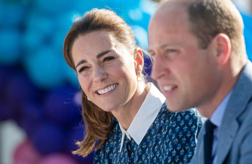 Kate Middleton i książę William /Joe Giddens /Getty Images