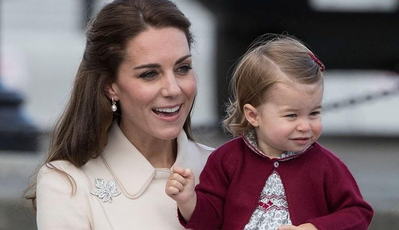 Kate Middleton i księżna Charlotte wydały się klientom baru bardzo sympatyczne /Pool / Pool /Getty Images