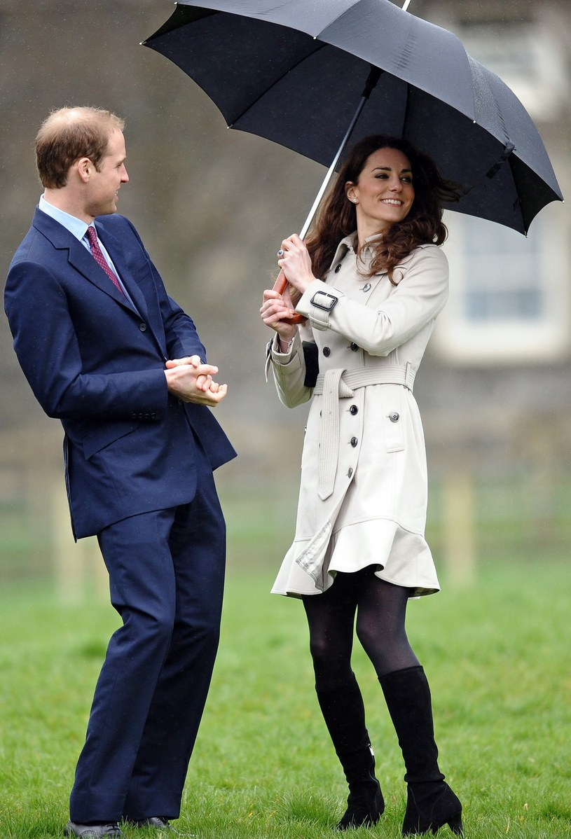 Kate Middleton i William Windsor   /AFP