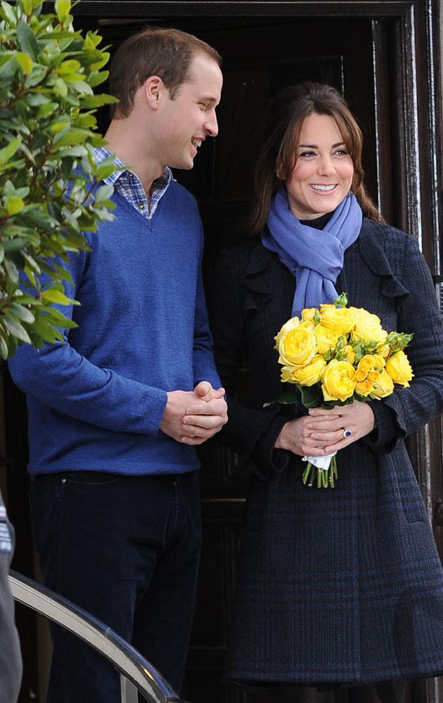 Kate Middleton, książę William /Matt Keeble /Splashnews