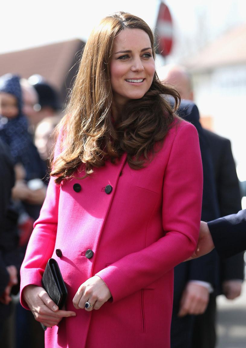 Kate Middleton w 8. miesiącu ciąży /Chris Jackson /Getty Images