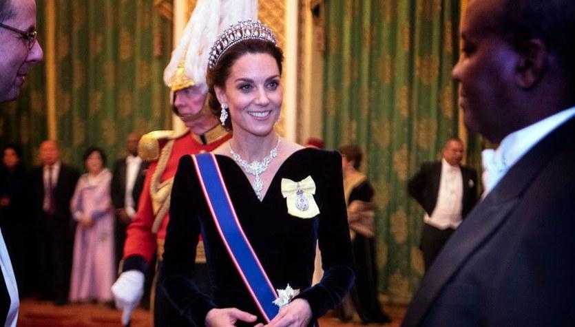 Kate Middleton zabłysnęła na królewskim przyjęciu