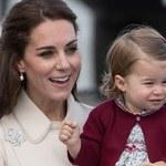 Kate Middleton zabrała księżniczkę Charlotte do londyńskiego baru