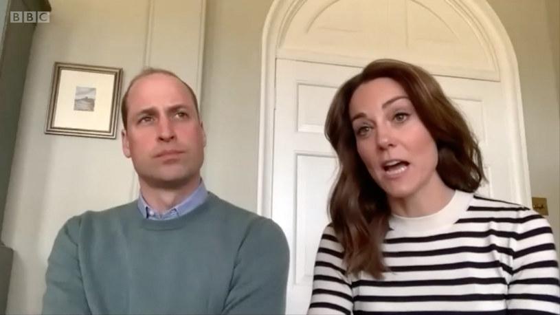 Kate Midlleton i książe William opowiedzili o trudach nauki zdalnej swoich dzieci /BBC/Ferrari Press /EastNews /East News