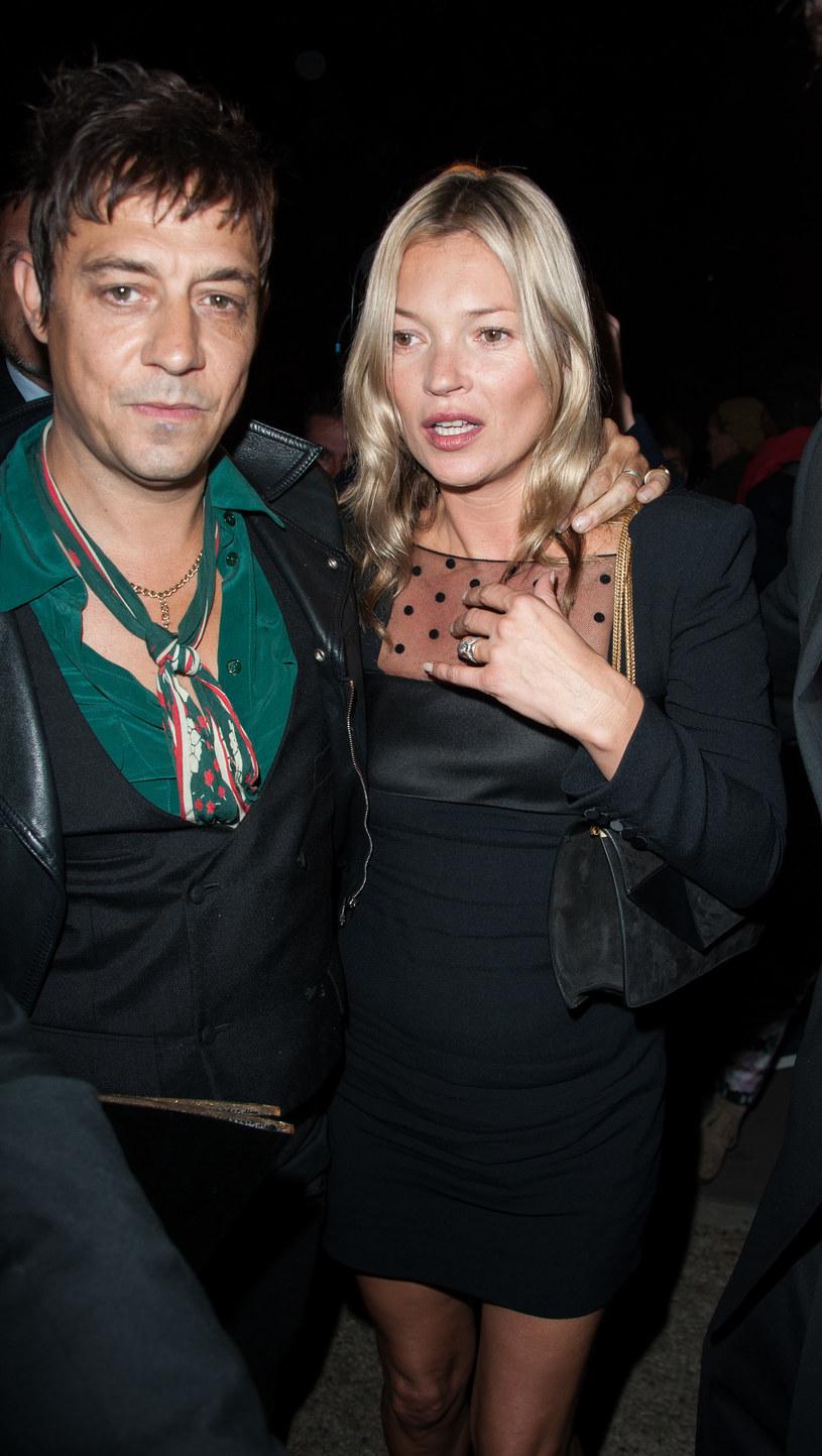 Kate Moss i Jamie Hince pobrali się w 2011 roku /Francois Durand /Getty Images