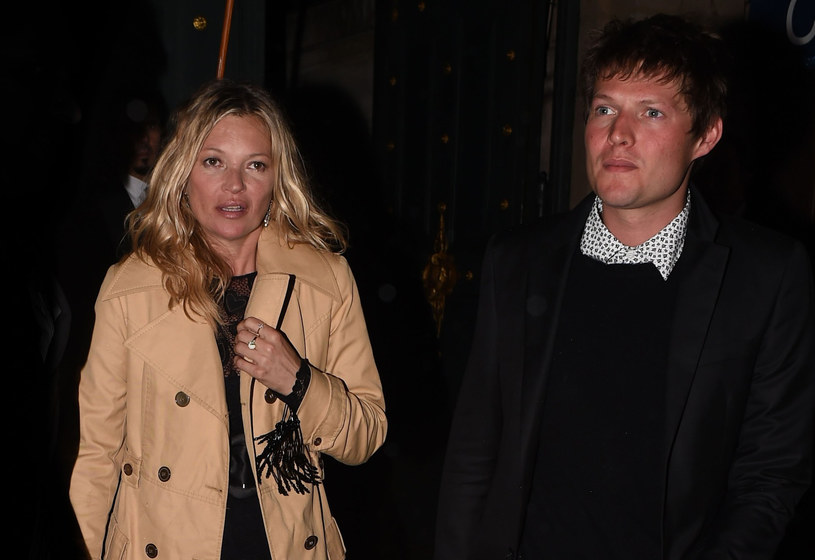 Kate Moss i Nikolai von Bismarck /East News