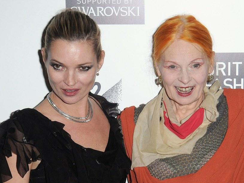 Kate Moss i Vivienne Westwood  /Getty Images/Flash Press Media