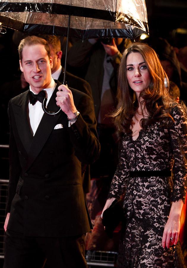 Kate twierdzi, że urodziny woli spędzić u boku Williama i rodziny.  /Ian Gavan /Getty Images