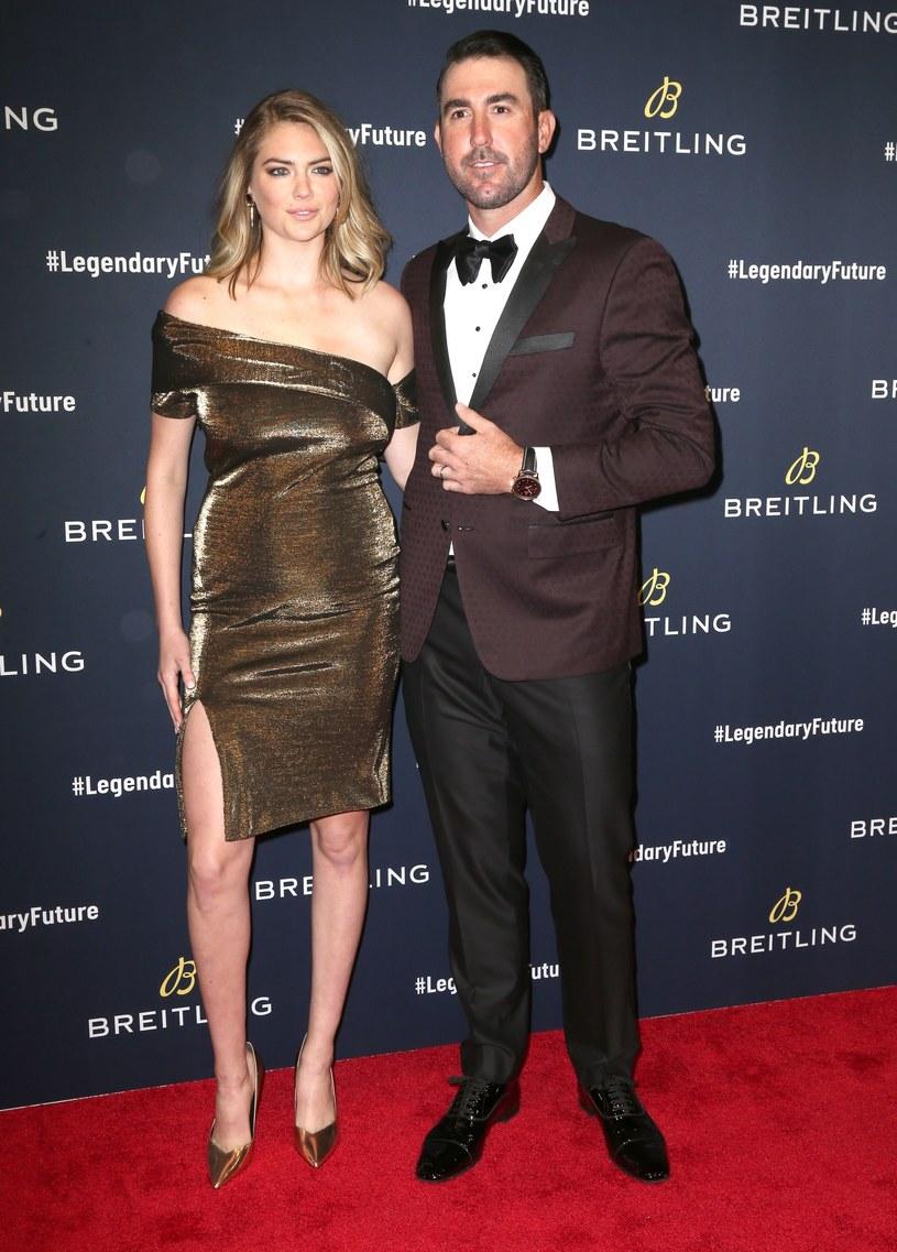 Kate Upton z mężem /Splash News /East News