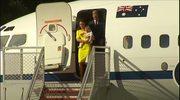 Kate, William i mały George w Sydney