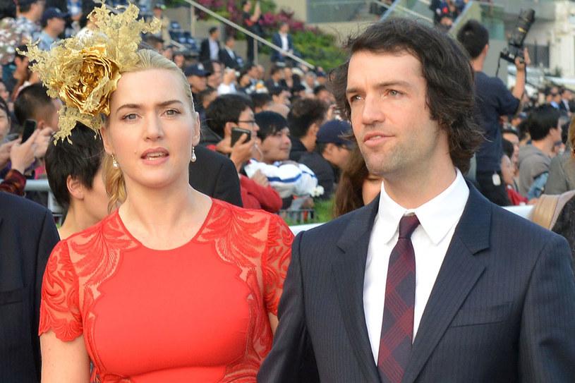 Kate Winslet i Ned Rocknroll pobrali się na początku grudnia /Getty Images