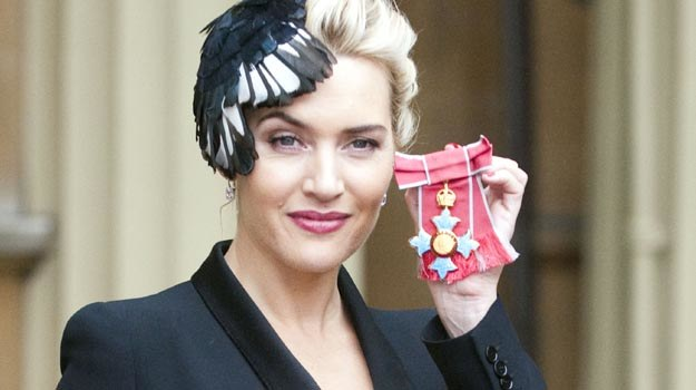 Kate Winslet: Z orderem wygląda starzej? - fot. WPA Pool /Getty Images/Flash Press Media