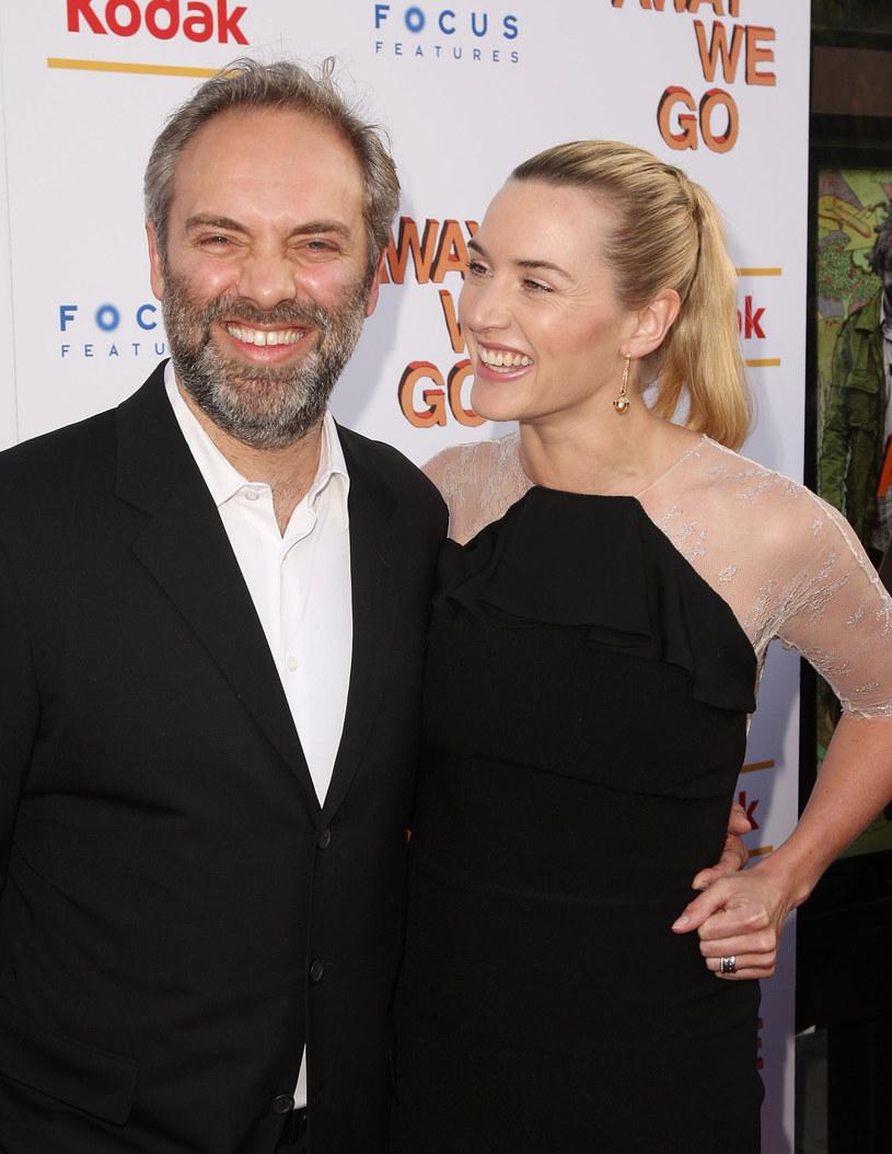 Kate z drugim mężem - Samem Mendesem /Getty Images