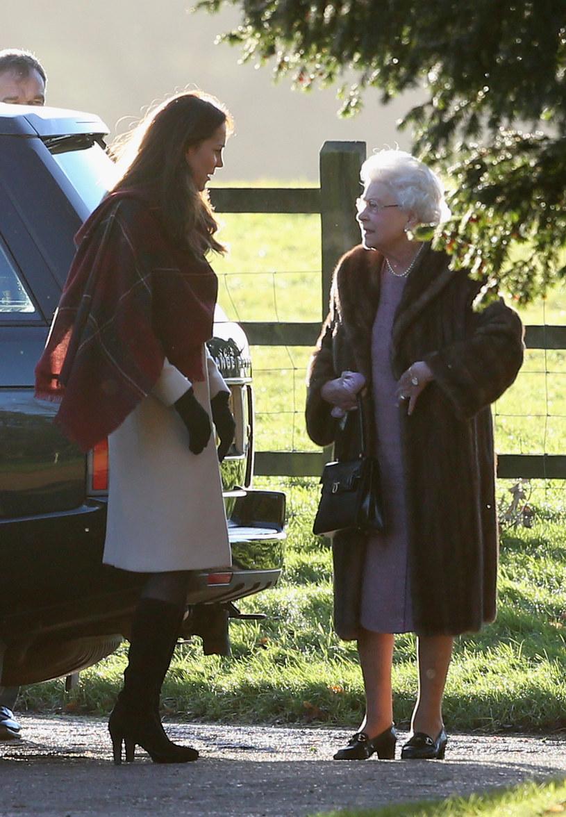 Kate z królową /- /Getty Images
