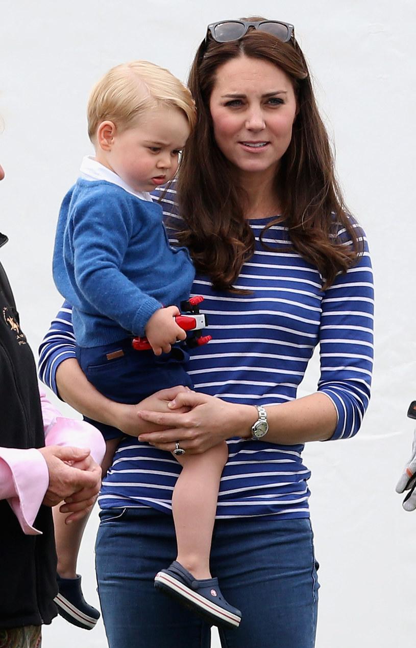 Kate z synkiem /Chris Jackson /Getty Images