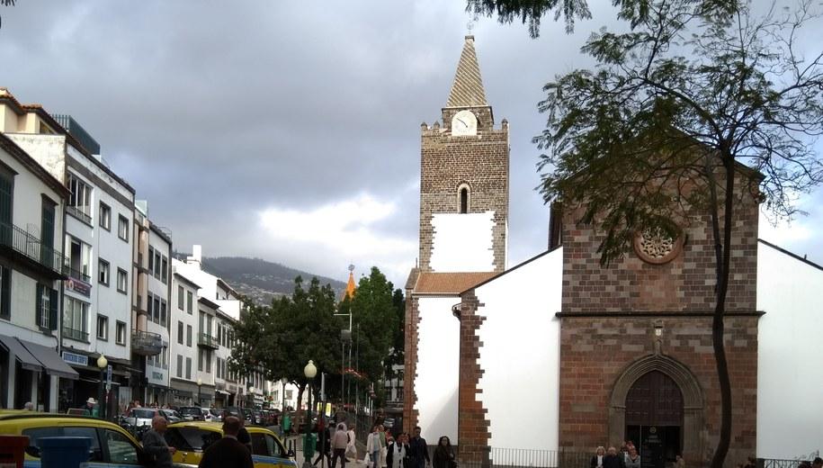 Katedra Funchall na Maderze /Joanna Potocka /RMF FM